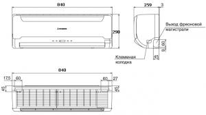 Mitsubishi Heavy SRK50-56HE-S1