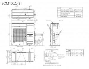Mitsubishi Heavy SCM100ZJ-S