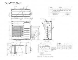 Mitsubishi Heavy SCM125ZJ-S