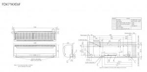 Mitsubishi Heavy FDK71KXE6F