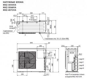 MXZ-3D54VA